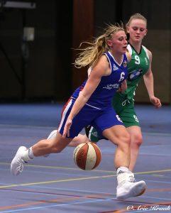 Basketbalvrouwen Renes/Binnenland hebben geen probleem met Rotterdam Basketball
