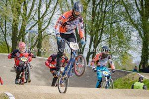 Nationale BMX wedstrijd voor FCC Barendrecht