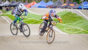 Eerste Nationale BMX wedstrijd voor FCC Barendrecht