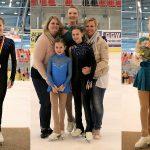 Gabi, Dani en Sophie Gewestelijk Kampioenen kunstrijden 2017