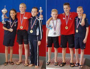 NK-medailles voor Barendechtse ZPB-zwemmers