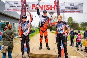 Finale Club wedstrijd BMX tussen Oud Beijerland en Barendrecht