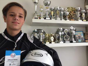Kartkampioen Eliano (15) zoekt sponsor voor internationaal kartseizoen in 2018