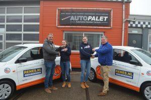 Eredivisionist basketball Renes/Binnenland krijgt nieuwe leaseauto's dankzij sponsoren