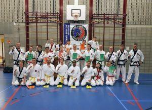 Geslaagd examen Tang Soo Do – Karate bij karateschool Him Yong Gi