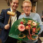 Leon van der Wilk nieuwe voorzitter Tennis Vereniging Barendrecht