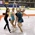 Zilver en brons voor kunstrijdsters Dani Loonstra en Sophie Bijkerk in internationale Ice Talent Trophy