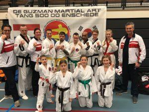 Succesvol toernooi voor Barendrechtse karatevereniging Him Yong Gi