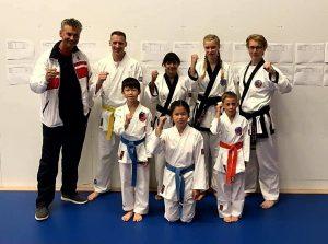 Top prestaties door Him Yong Gi leden op het NK Tang Soo Do - Karate