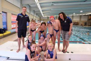 Waterpoloërs ZPB EG1 2e van Nederland