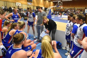 Linda Appers assistent coach bij basketbalvrouwen