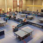 Tafeltennisvereniging Barendrecht in sporthal Riederpoort