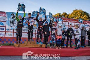 Finale BMXTrofee West competitie: Joost Vrij van FCC Barendrecht afdelingskampioen