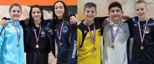 Medailles voor ZPB-zwemmers op het NK