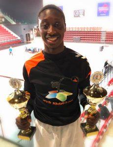 Dubbel Kampioenschap Taekwondo voor Suliaman Sesay-Westerkamp