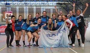 Handbalvrouwen Savosa B1 winnen Arnhem Cup