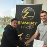 Emmery Groep verlengt sponsorcontract met karter Eliano