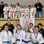 2 teams van JCR judo kampioen van Zuid-Holland