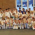 Examens bij JCR judo in Sporthal Waterpoort