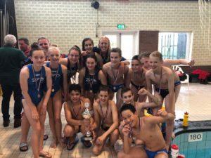 ZPB DG1 Nederlands kampioen Waterpolo onder 13 jaar